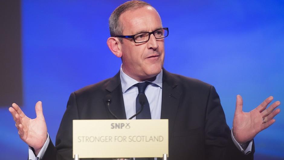 Stewart Hosie, SNP's deputy leader and economic spokesman