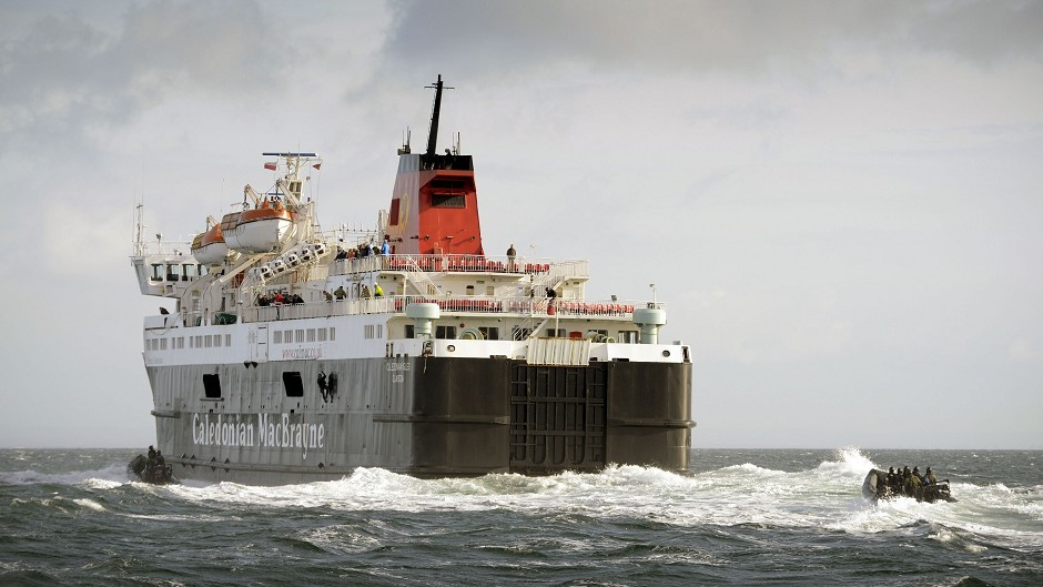 Caledonian MacBrayne's MV Eigg is the last of the fleets 'Island' class ferries to retire from service after more than four decades, operating her main route from Oban to Lismore until 2013.