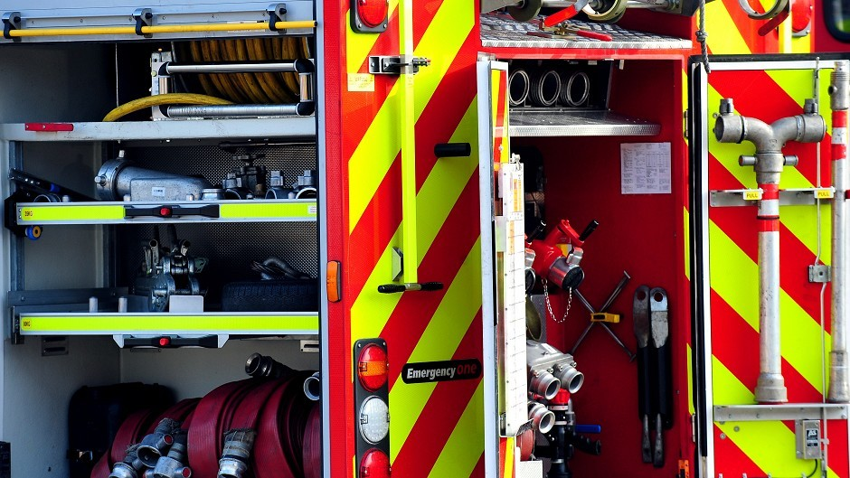 Firefighters attended the fire at a home in Rosemarkie