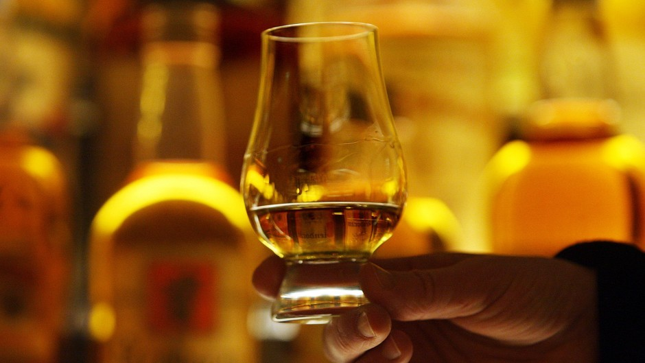 Sales of whiskey made outside of Scotland are expected to increase over the next five years.