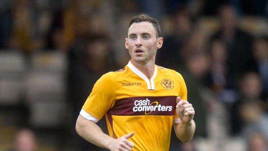 Motherwell's Bob McHugh is fit after a groin injury