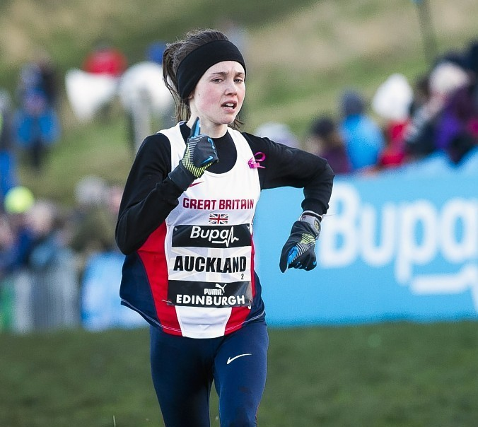 The 21-year-old runner is a Banchory Stonehaven AC member