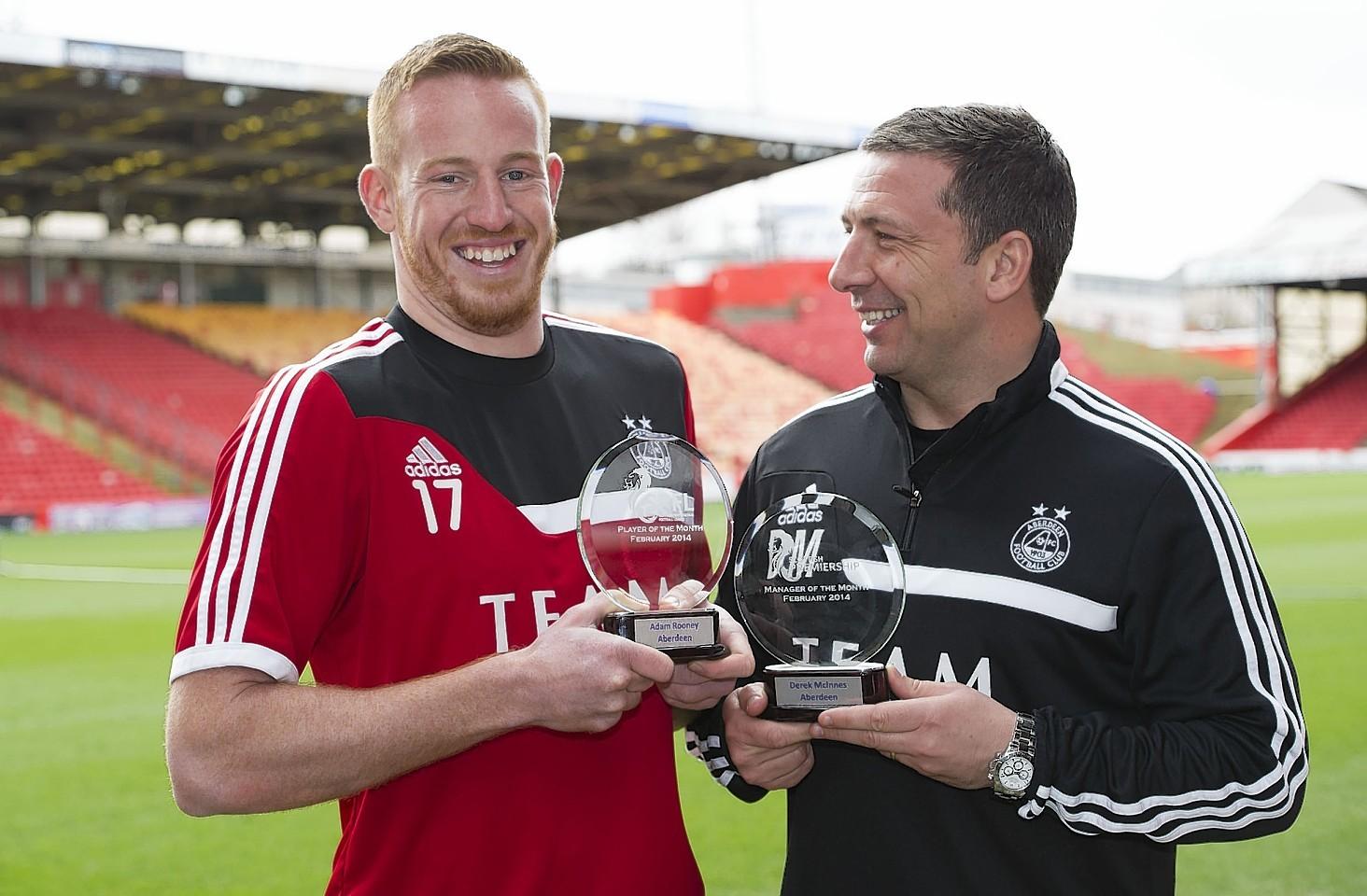 McInnes was full of praise for Dons top scorer Adam Rooney