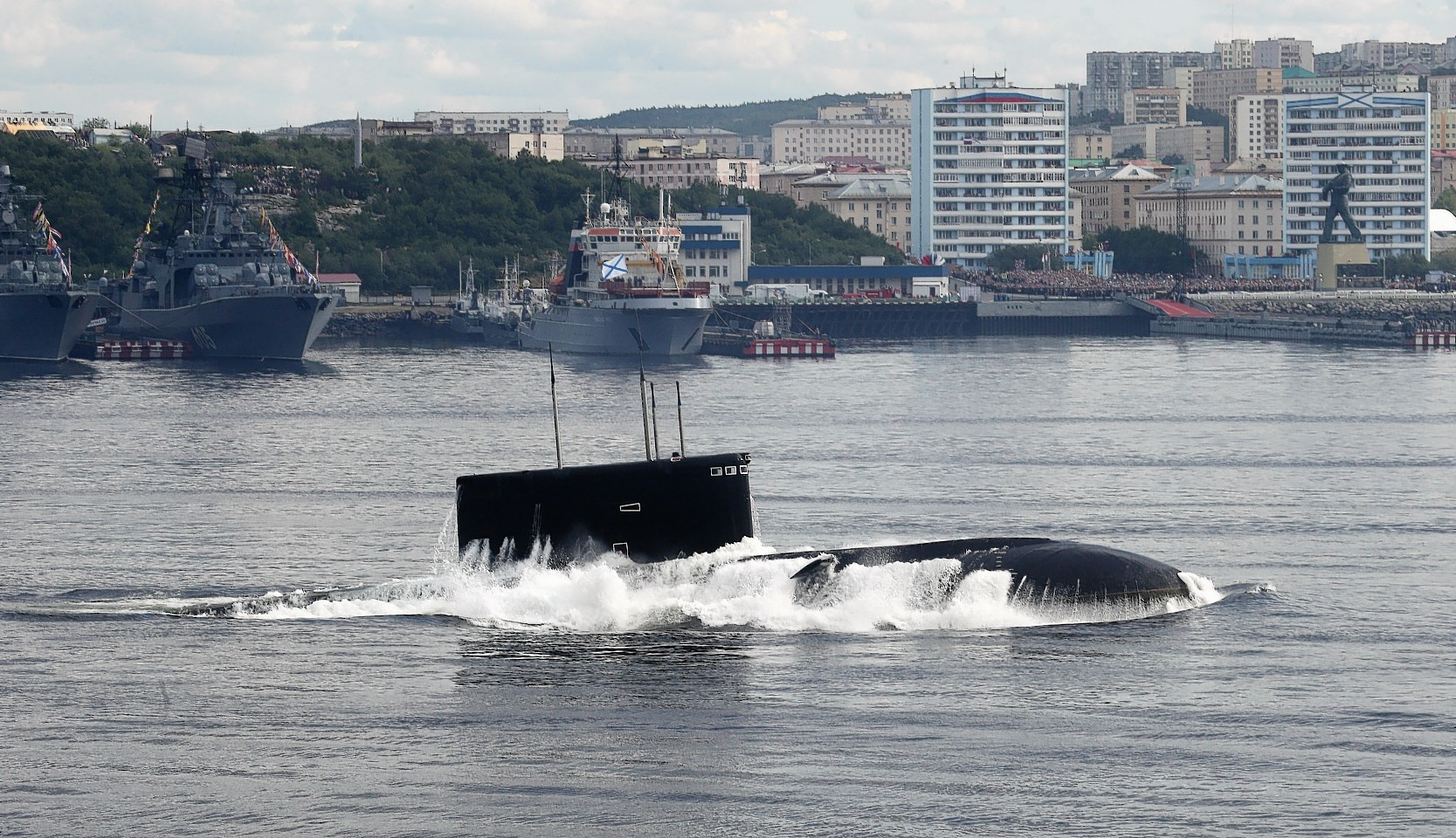 It is feared Russian submarines may pose a threat to Scottish fishermen
