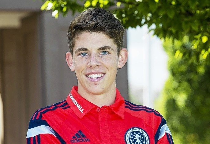 Ryan Christie is looking to add to his two Scotland under-21 caps
