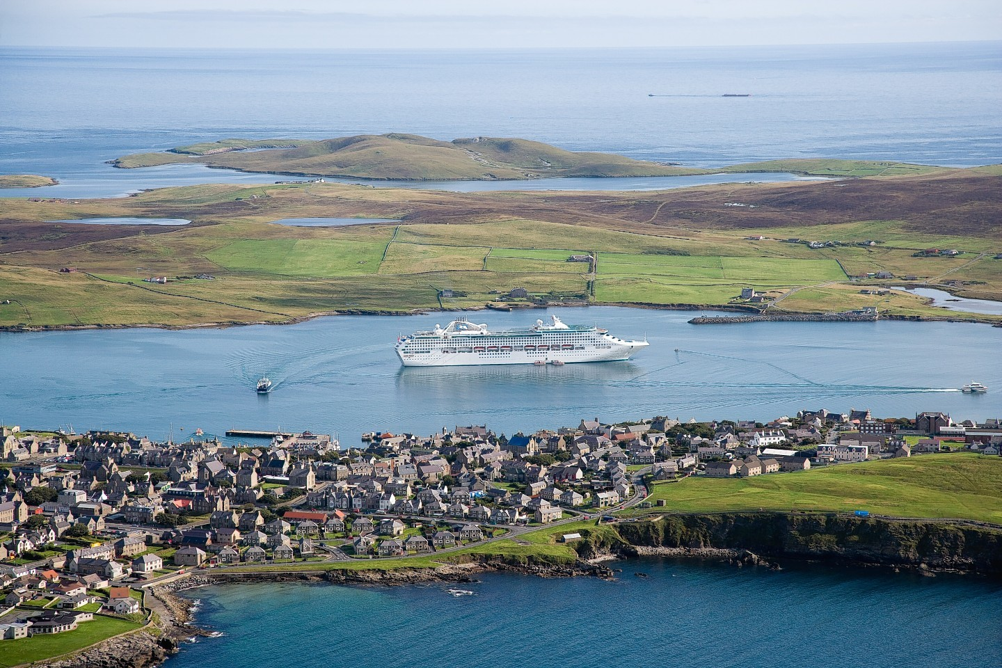 Sea Princess at Lerwick