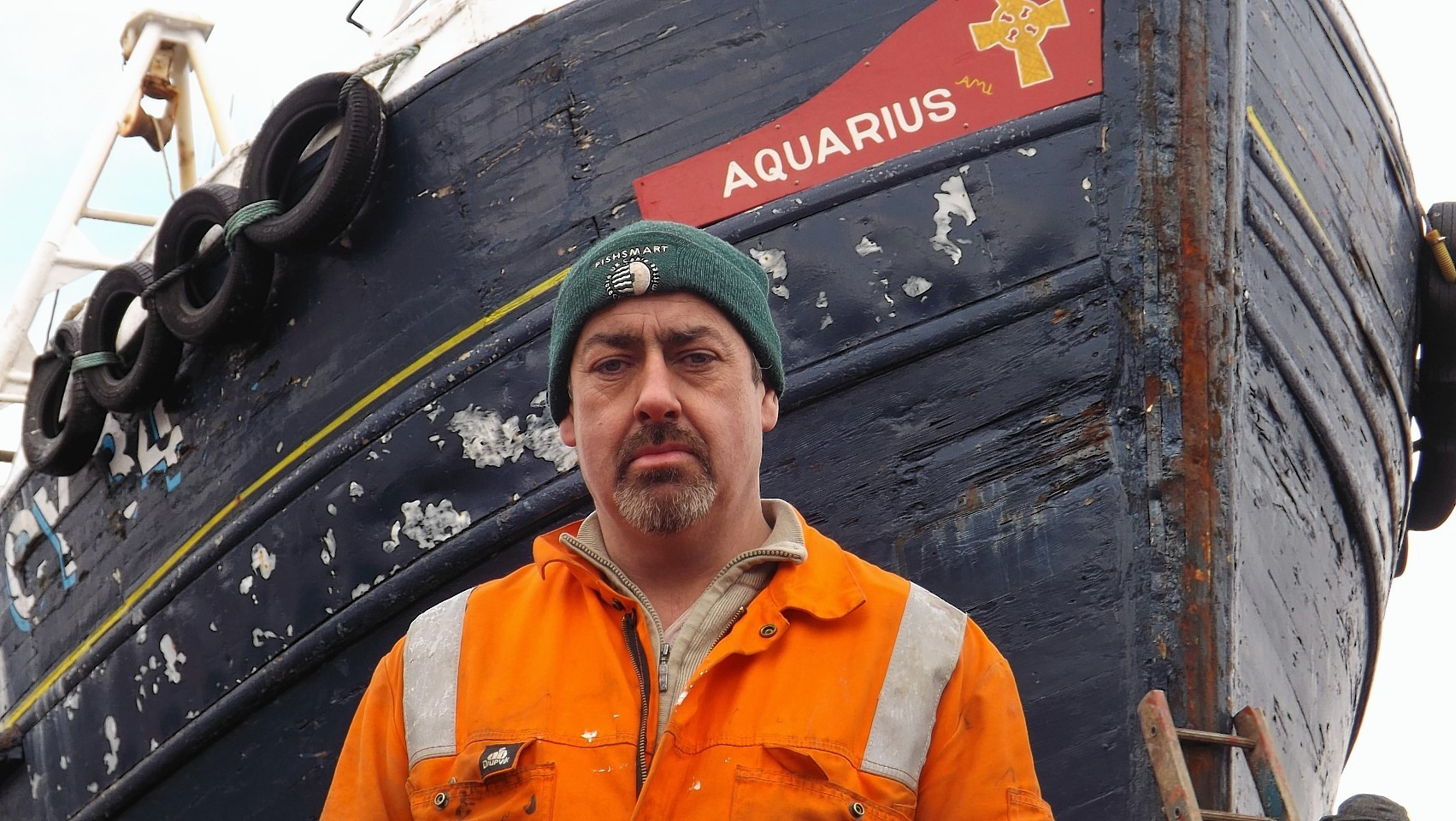 """Skipper Angus Macleod said he and his four crew were """"extremely lucky"""""""
