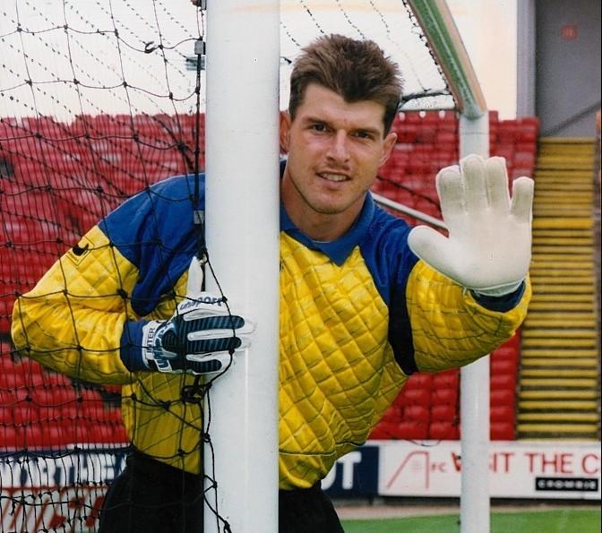 Former Dons goalkeeper Theo Snelders