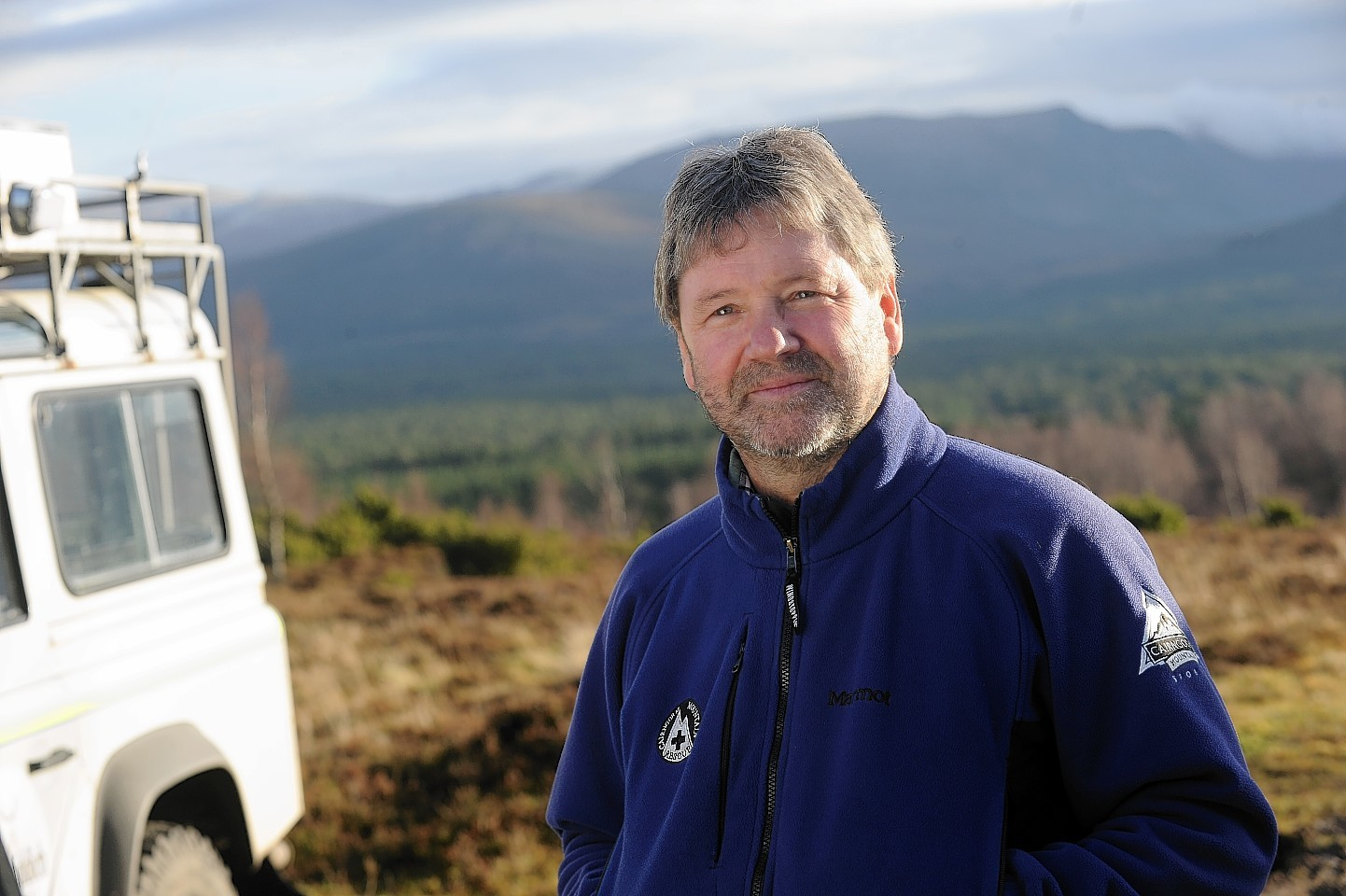 Cairngorm Mountain Rescue leader Willie Anderson