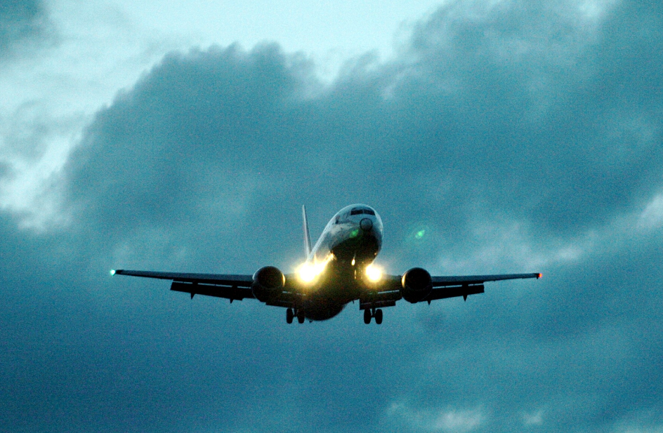 Flights at Aberdeen Airport were cancelled today following a power cut.