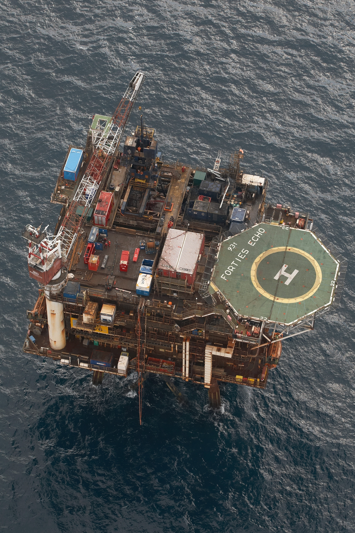 Apache North Sea's Forties Echo platform