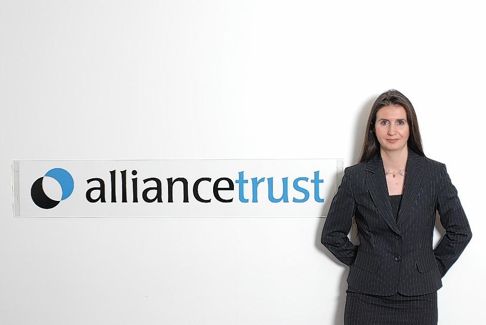 Katherine Garrett-Cox, Alliance Trust