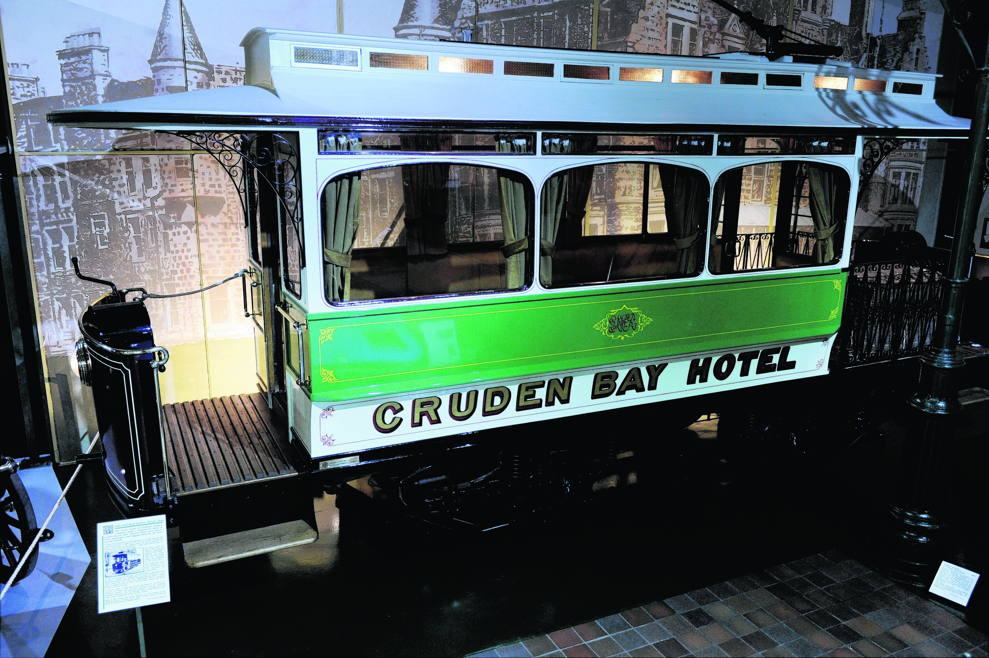 1989 Cruden Bay Hotel Tram.