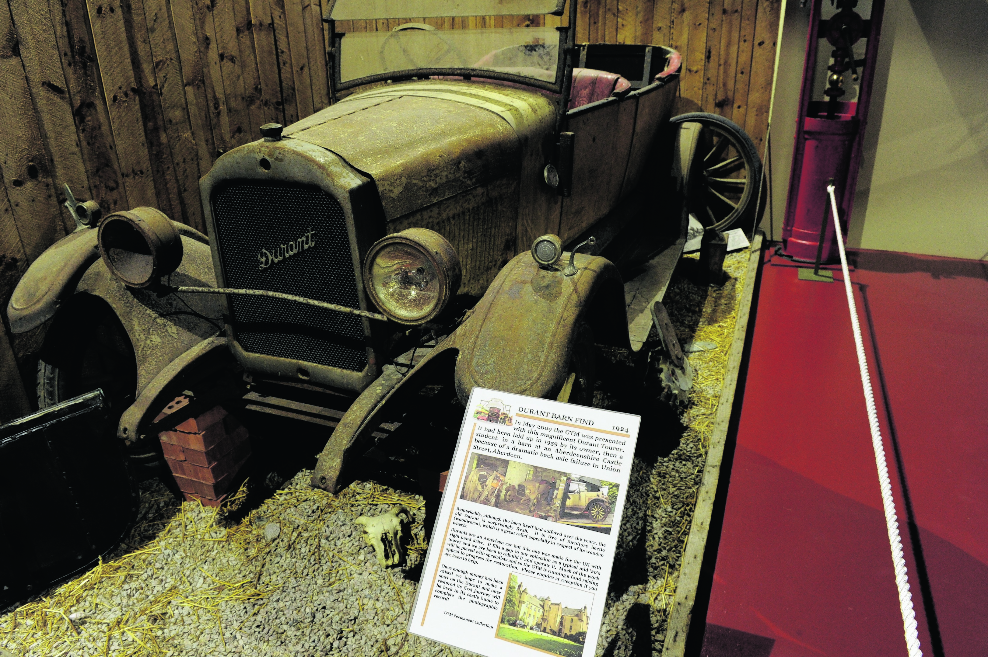 Durant Barn Find 1924.