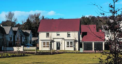 Number 1 Garthdee Lane on Barratt Homes' Den of Pitfodels development