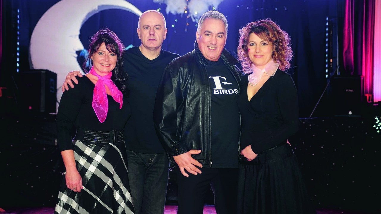 Sharon Taylor, Dougie McPhee, Findlay Sinclair and Vasia Hristova