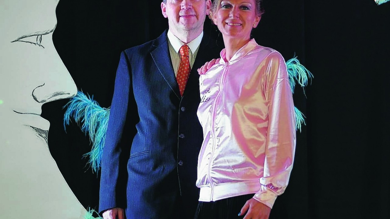 Choreographer Lorna Whelan and Compere Michael Whelan