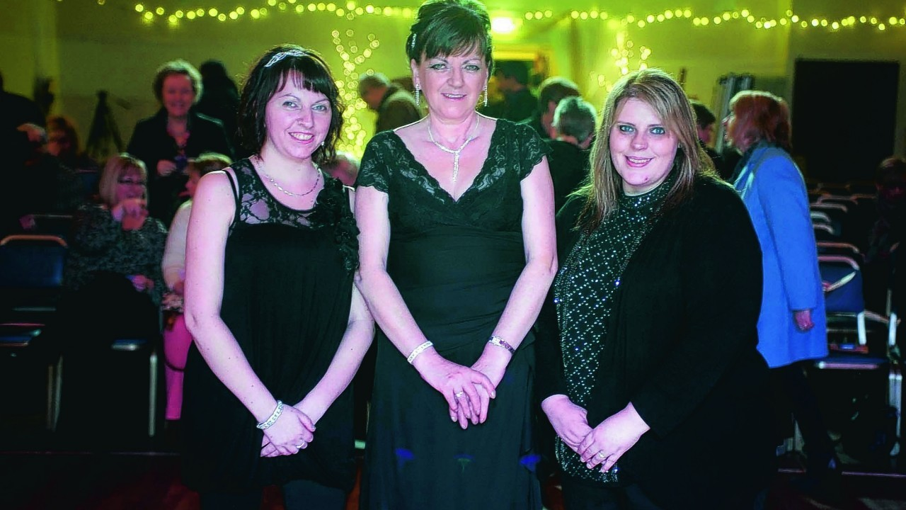 Debbie Smith, Fiona Gerrard and Jenny Allan