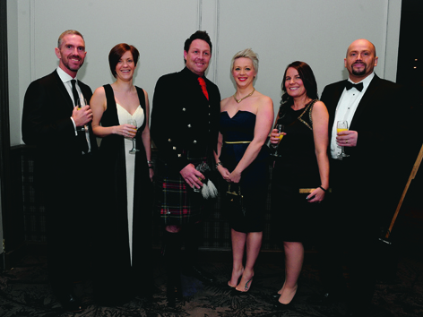 Duncan and Debbie Booth with Darren and Gillian Wilson and Lynda and Shaun Buchan