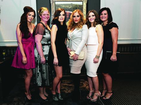 Lauren Craigie, Fiona Pattillo, Amy Gadsden, Gloria Milani, Aileen Bell and Claire Thomas