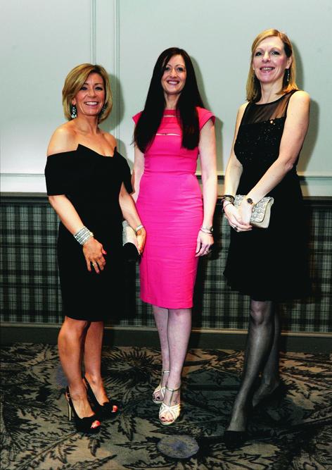Shona Macaskill, Leigh Stott and Isobel Milne