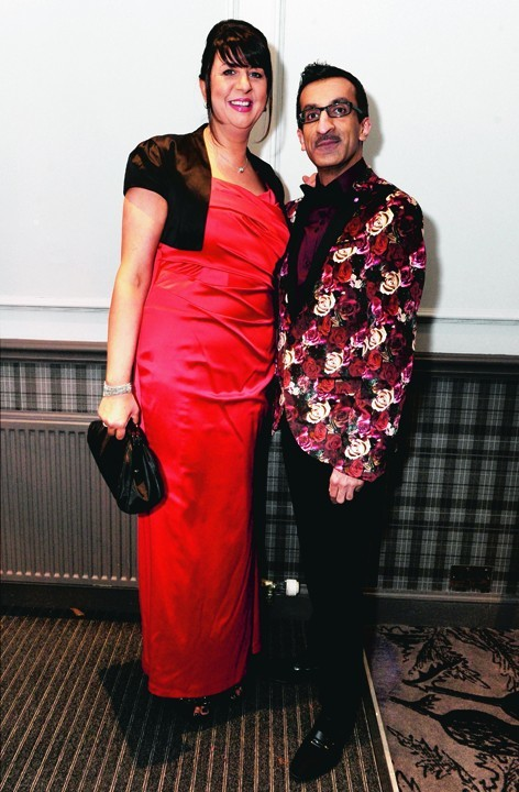 Tracey Munro and Mubasher Choudry