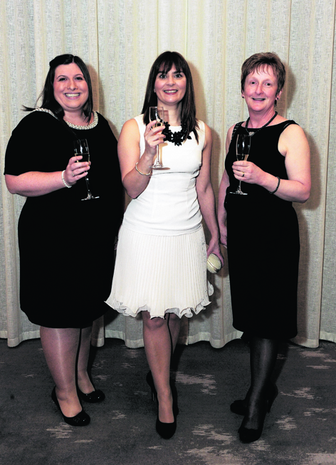Laura Wigg, Michaela Ness and Karen Masson