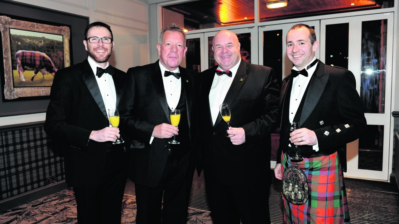 Malcolm Gunnyeon, Mike Reilly, Peter Bruce and Andy Lowe