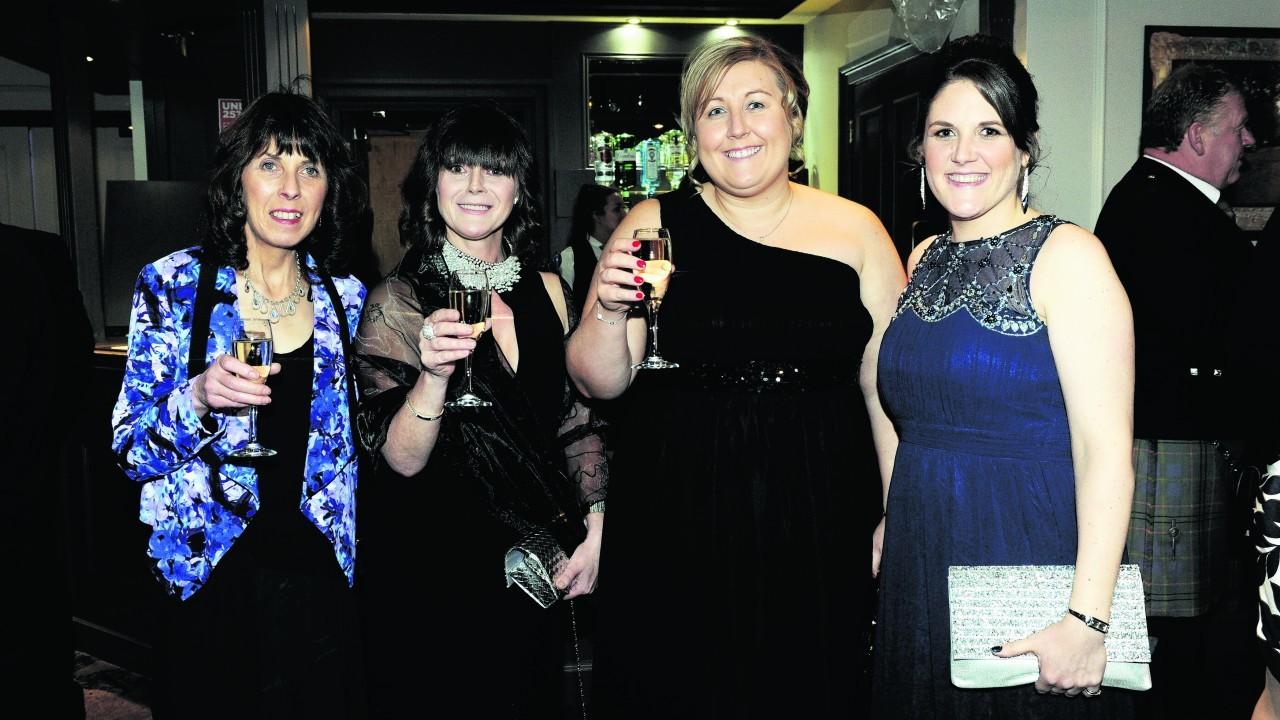 Liz Ashworth, Diane Findlay, Dianne Smith and Katherine Thomson