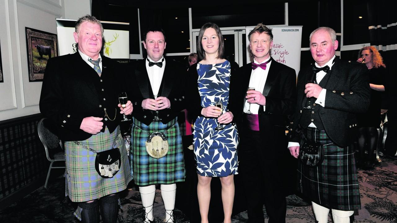 Ian Taylor, Neil Urquhart, Karen McArthur, Marcus Carlise and Ronald Murdoch