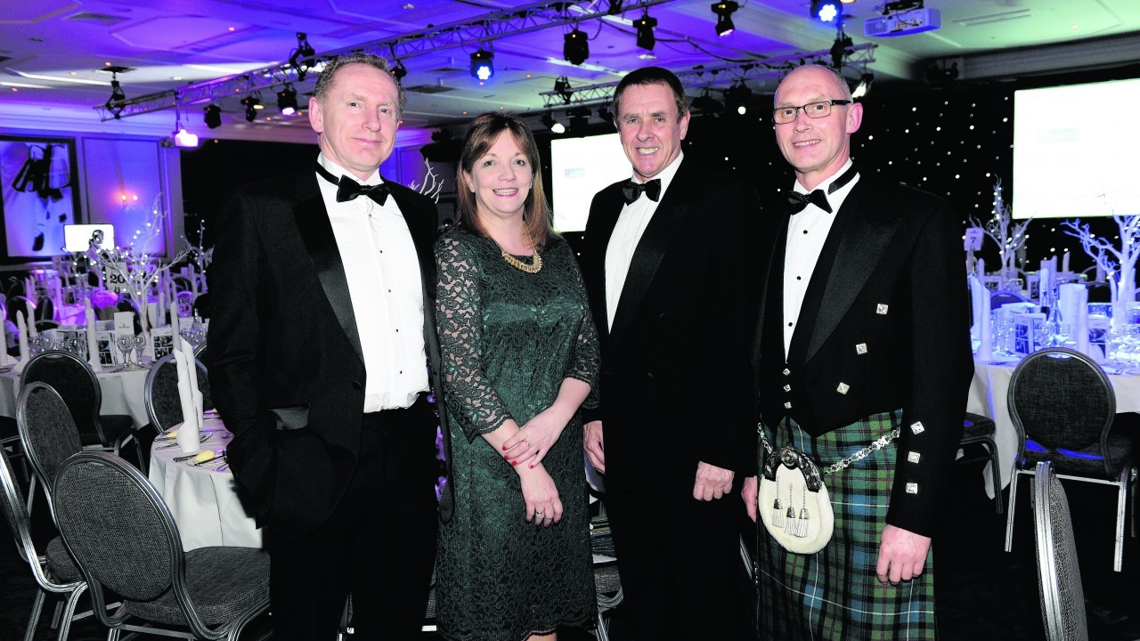 Michael Robertson, Elizabeth Mathie, David Kilshaw and James Robertson