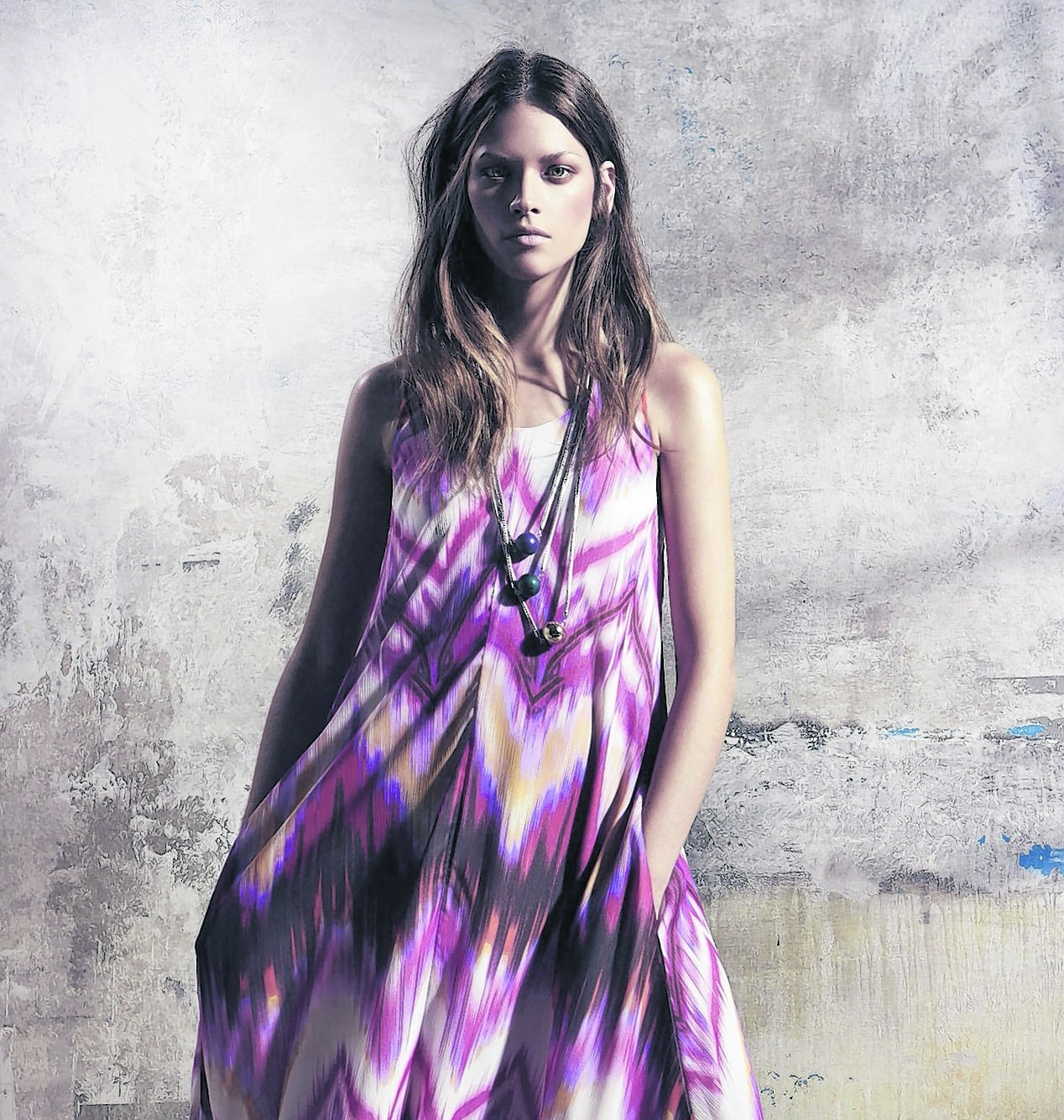 South Trapeze Dress, £49 (available later in March; www.littlewoods.com)