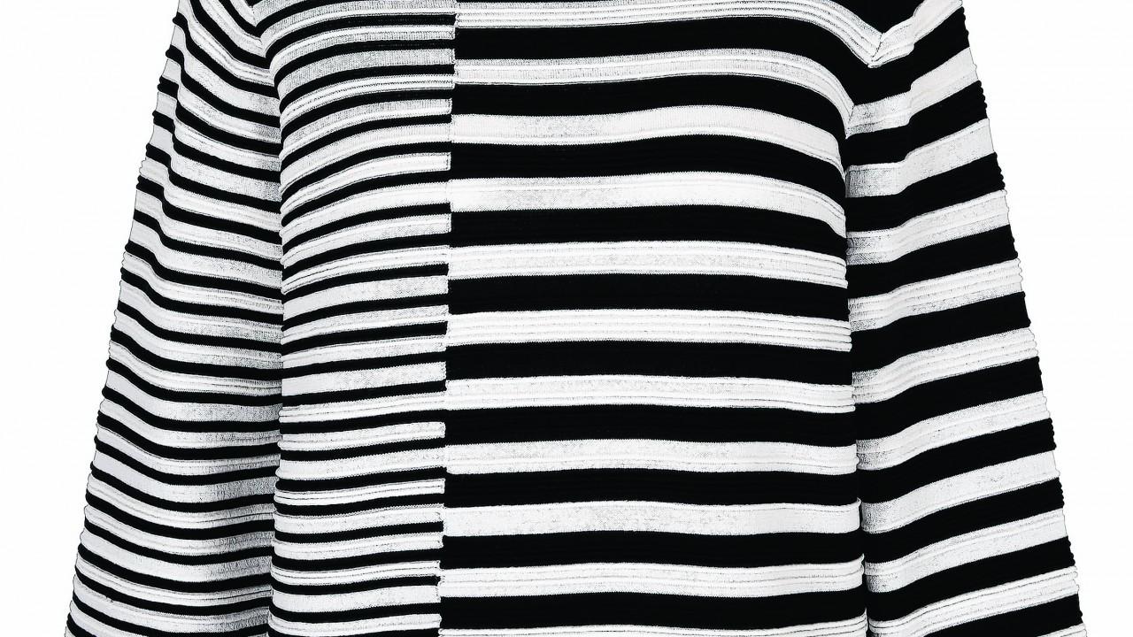 black and white Sweater, £34, Next