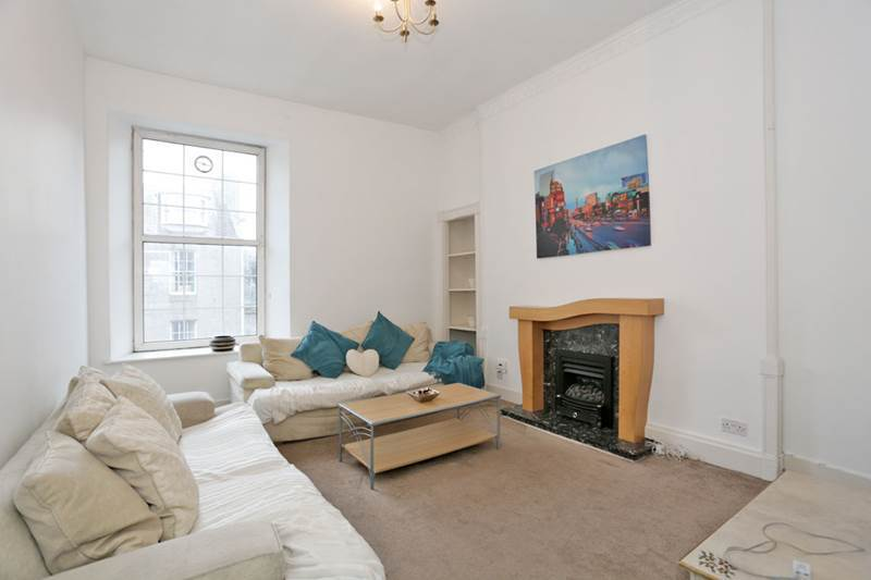 A spacious living room in King Street