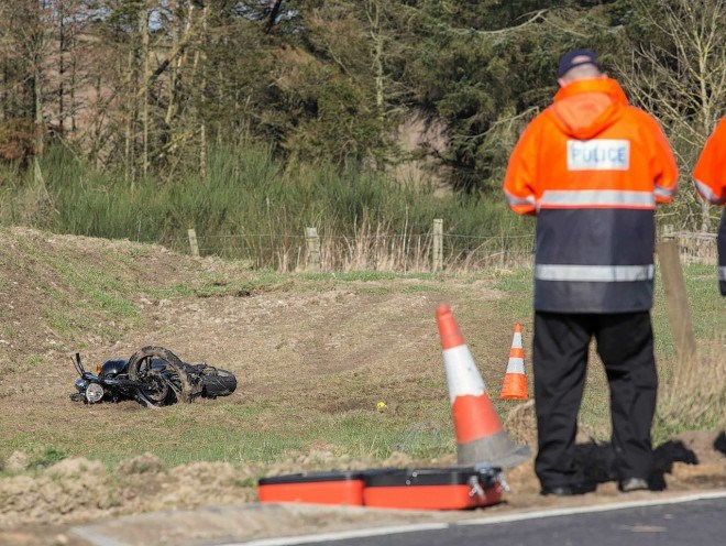 Last week a man died in a crash on the A947