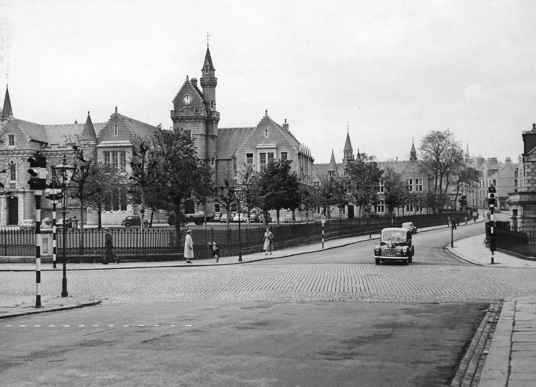Aberdeen Grammar School on October 29, 1958
