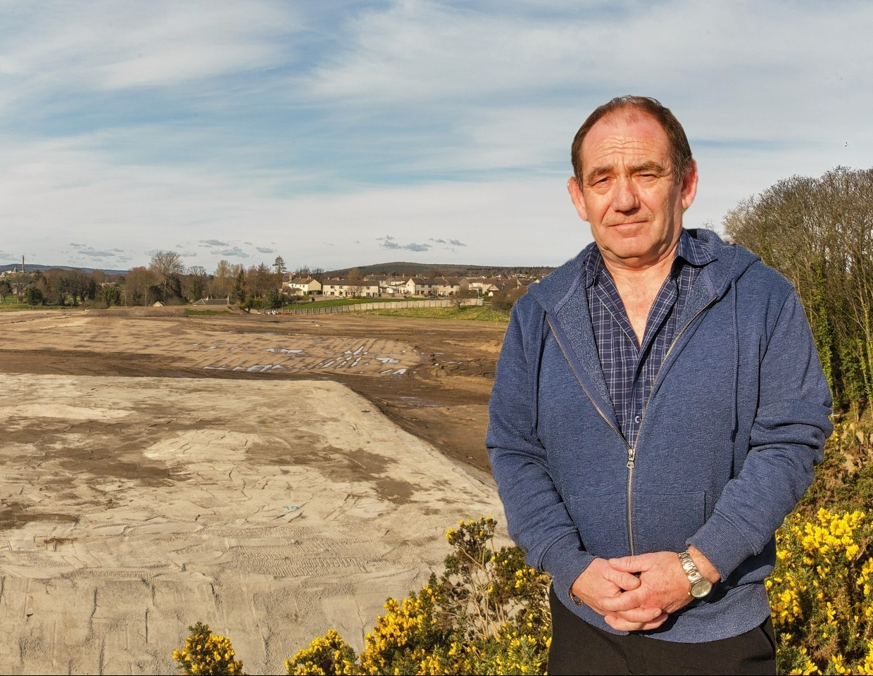 Chairman of the Community Councils of Moray (JCC) and Elgin Community Council Alastair Kennedy