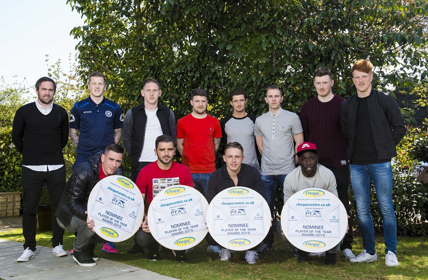The nominees from the Championship, League One and League Two