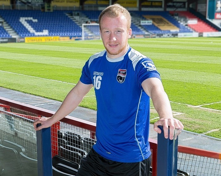 Liam Boyce recently penned a new contract with the Staggies