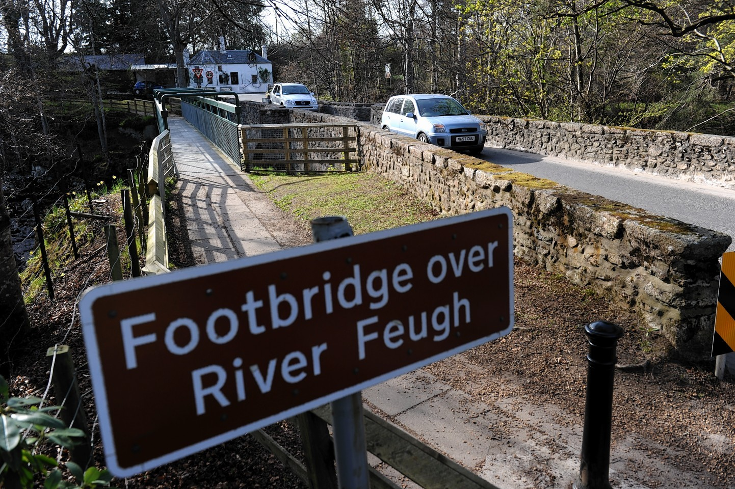 Locals are worried about traffic at the Bridge of Feugh