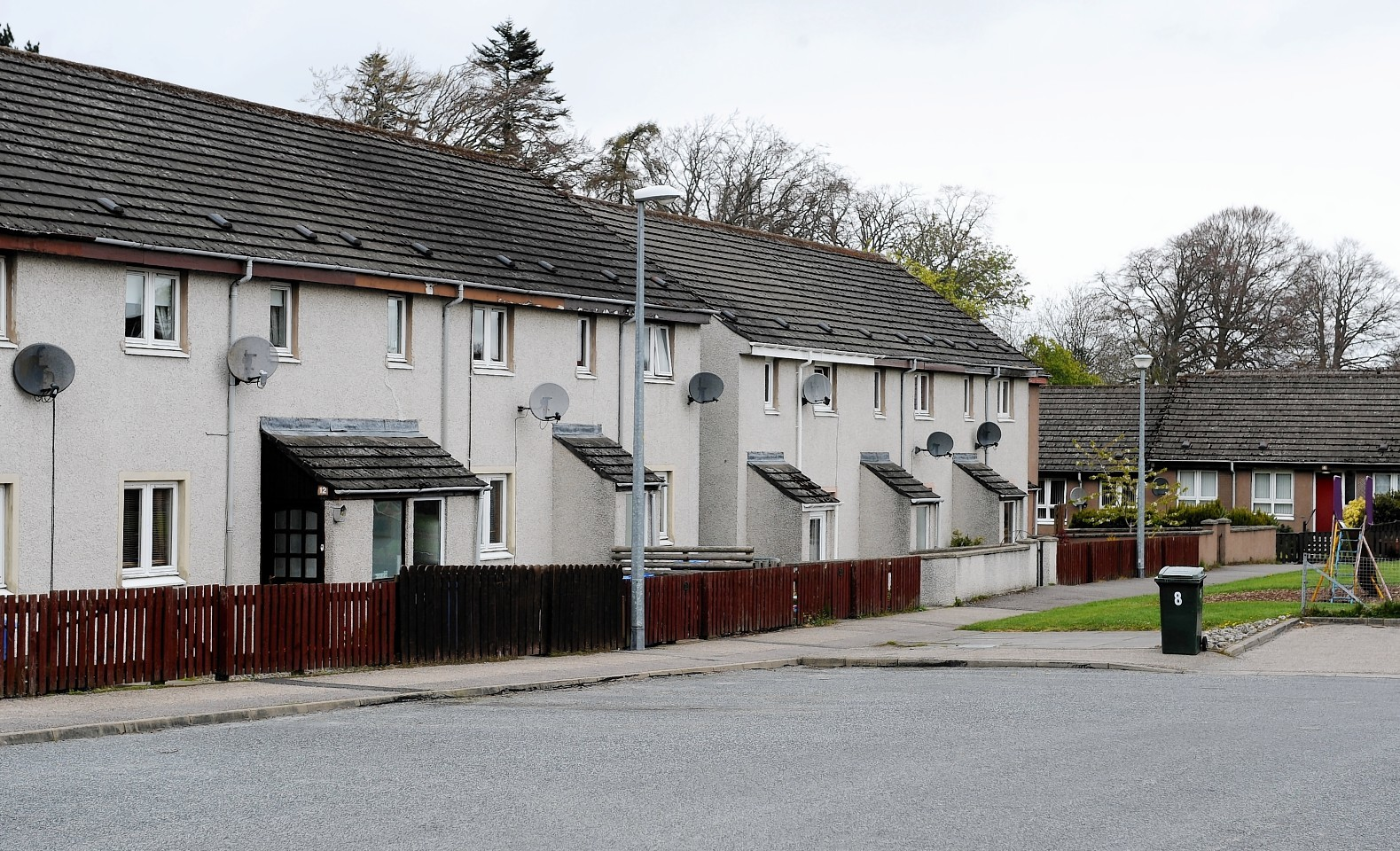 MacLean Court, Culloden. Picture by Sandy McCook