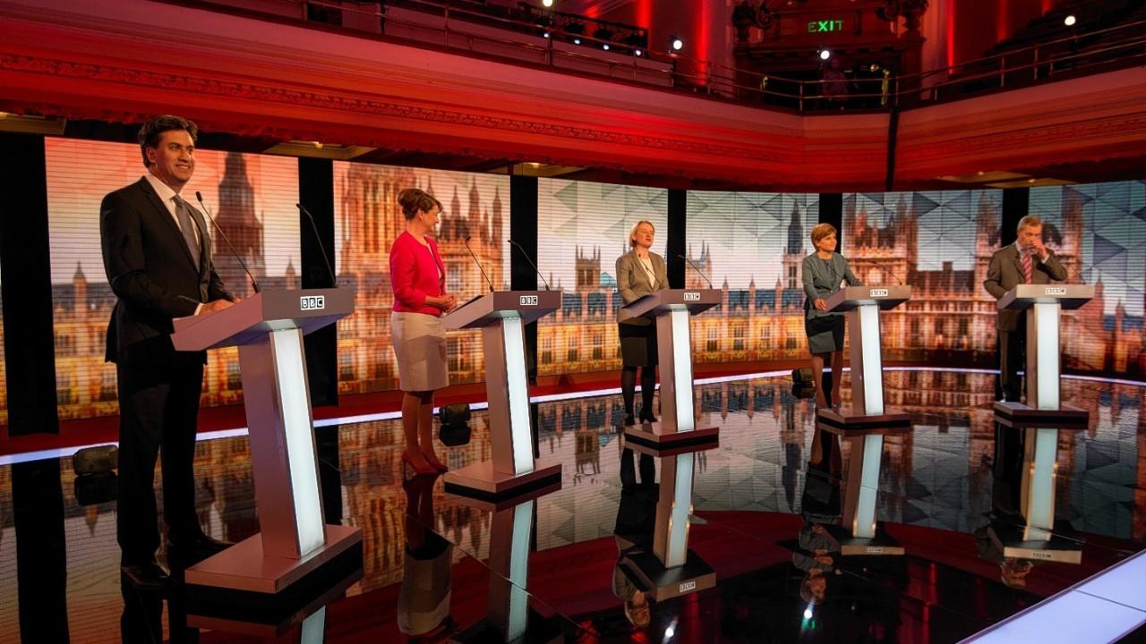 Tonight's leaders debate