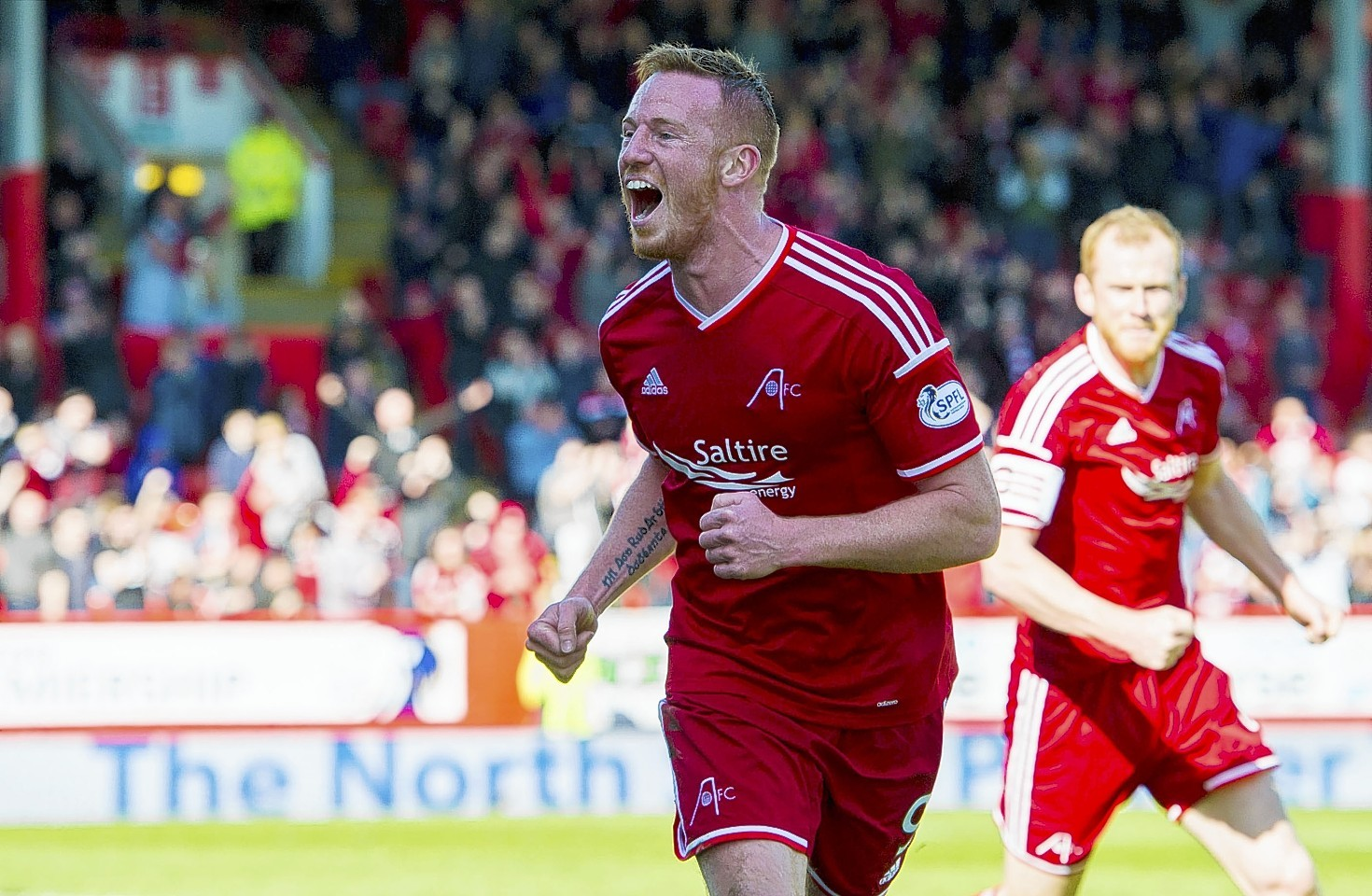 Adam Rooney has been rewarded for his 27 goals this season