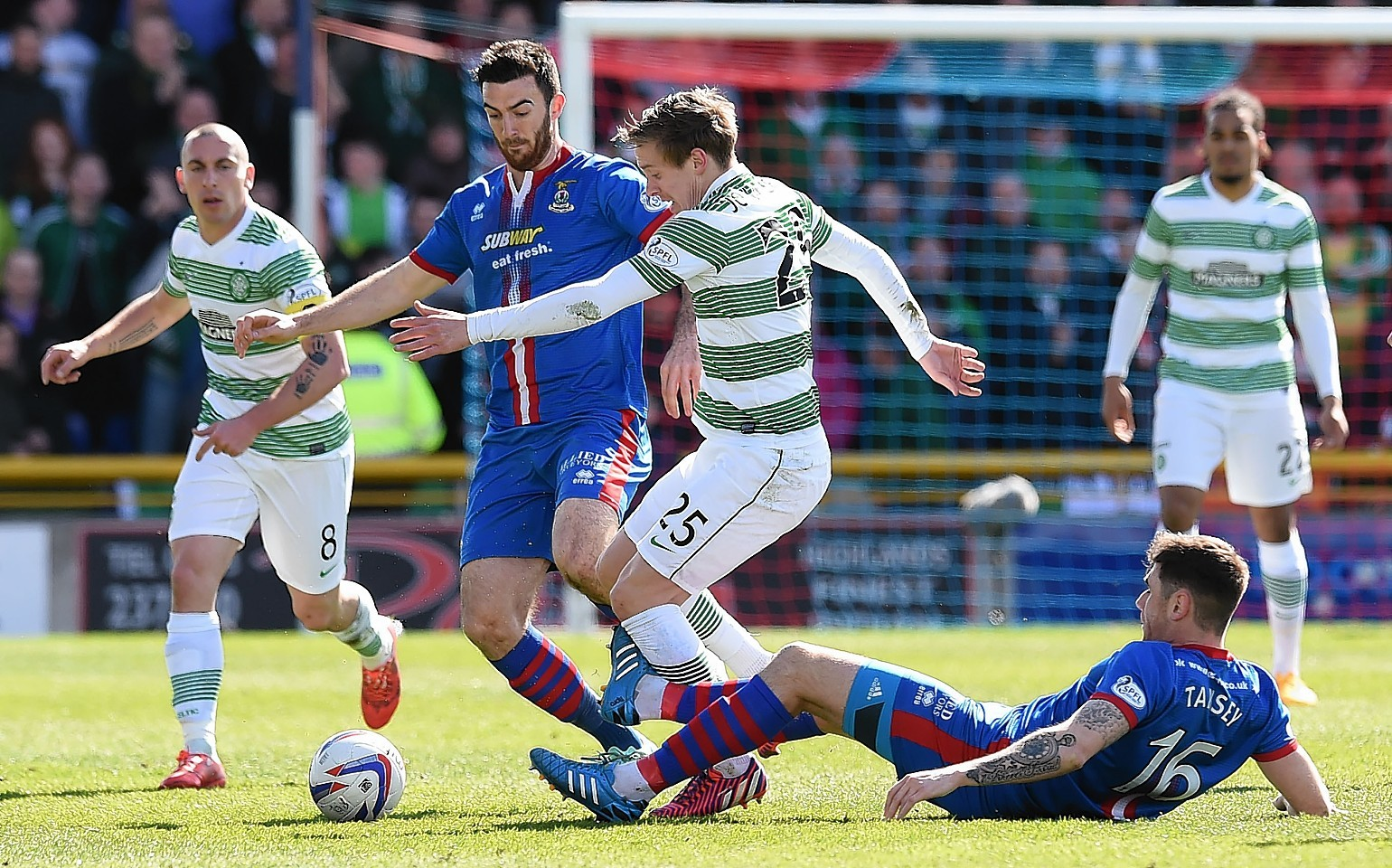 Celtic host Caley Thistle at Parkhead on Saturday, kicking off at 3pm.