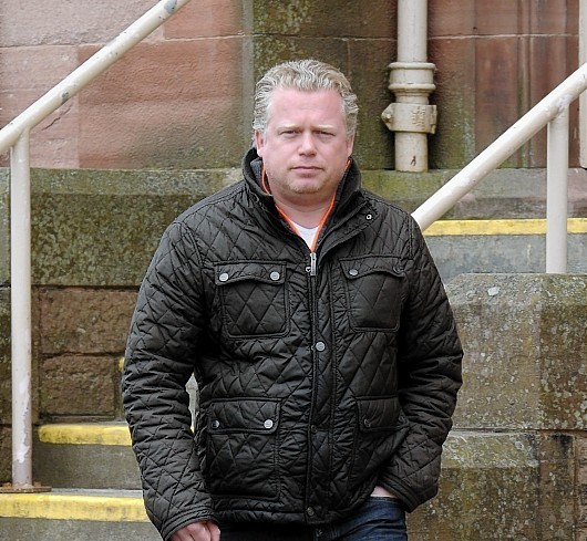 Esdert Prins leaves Inverness Sheriff Court