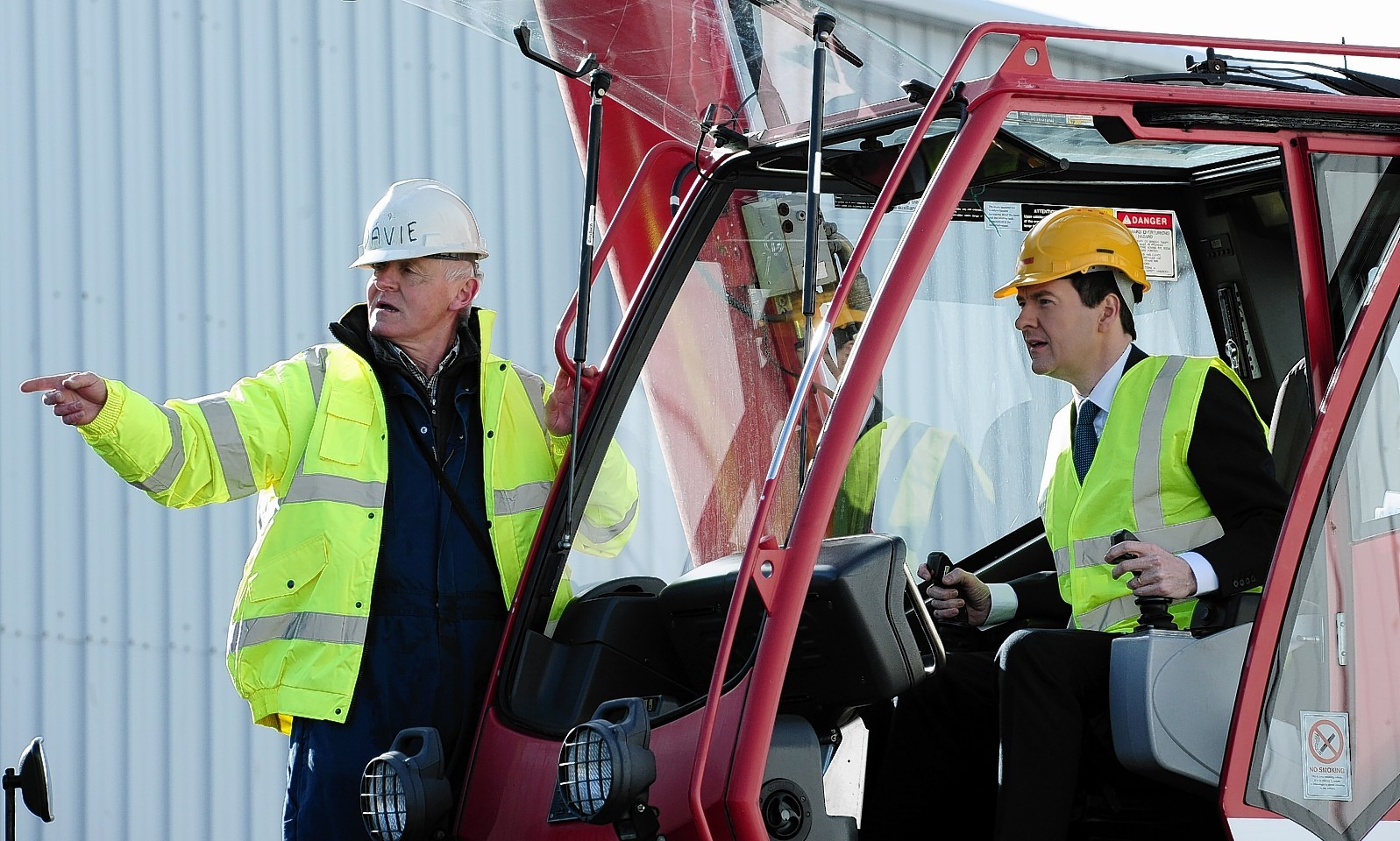 George Osborne on his visit to Aberdeenshire