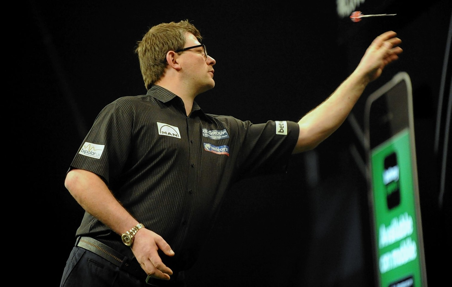 The Betway Premier League Darts at the AECC in Aberdeen.