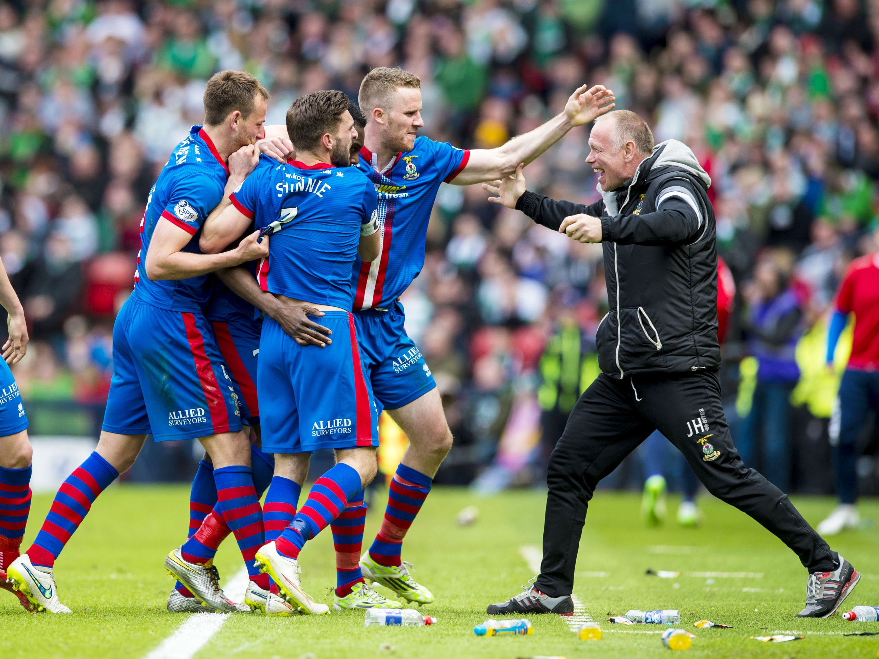 Caley Thistle knocked Celtic out in the Scottish Cup semi final