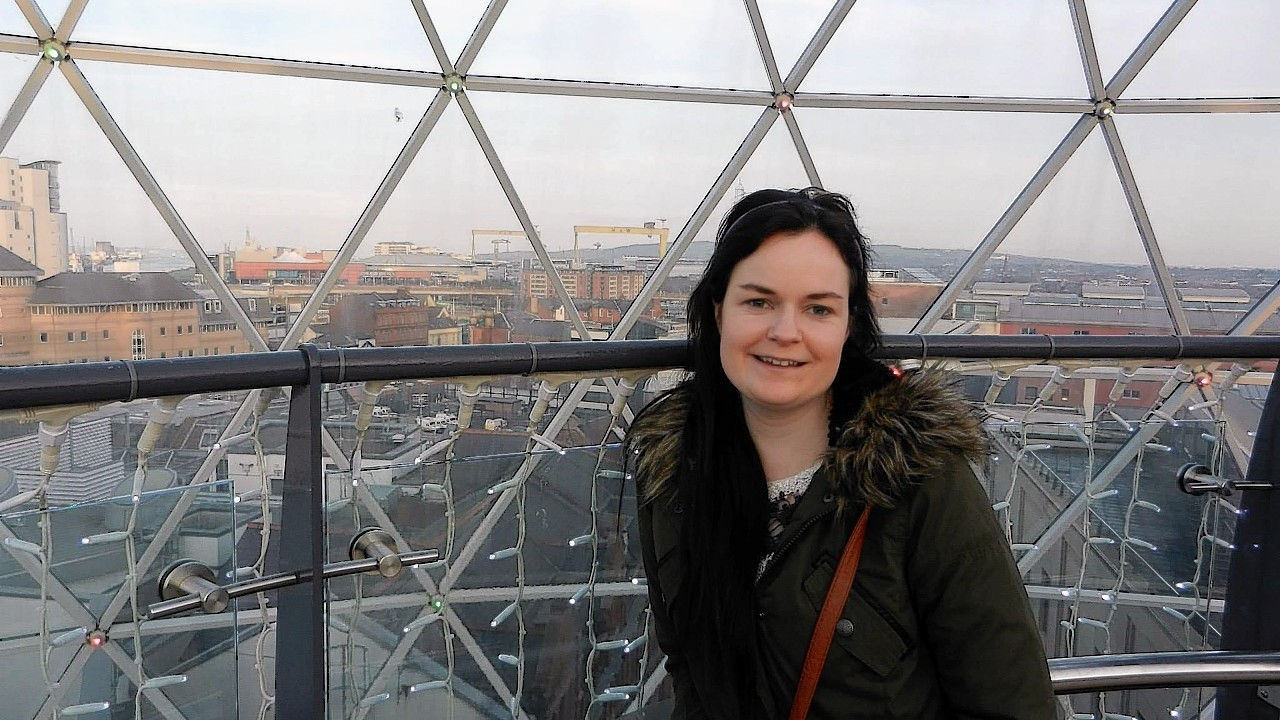 The remains of Karen Buckley were found on a farm near Glasgow