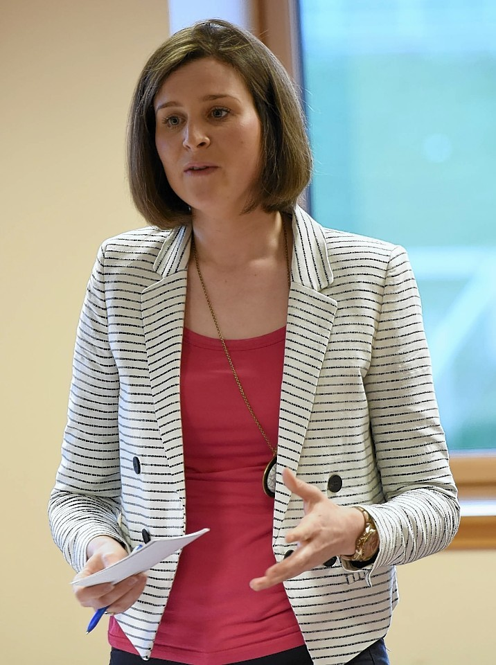 Lindsay McCallum, Conservative. Pic - Phil Downie